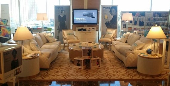 Rapoo suite bij CES 2015 Las Vegas