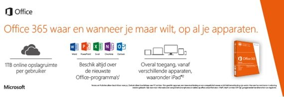 Office 365 print campagne
