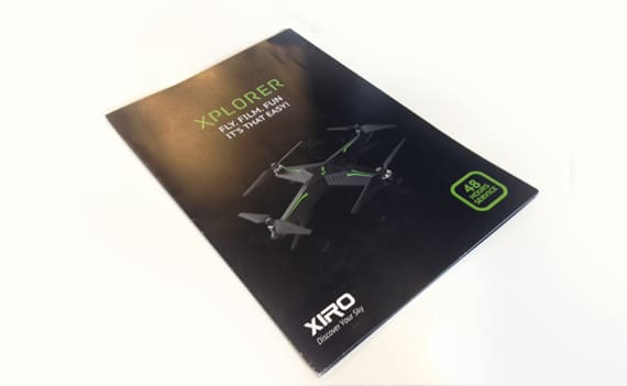 Xiro folder