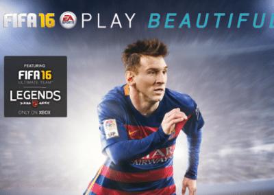 FIFA16 van EA Sports