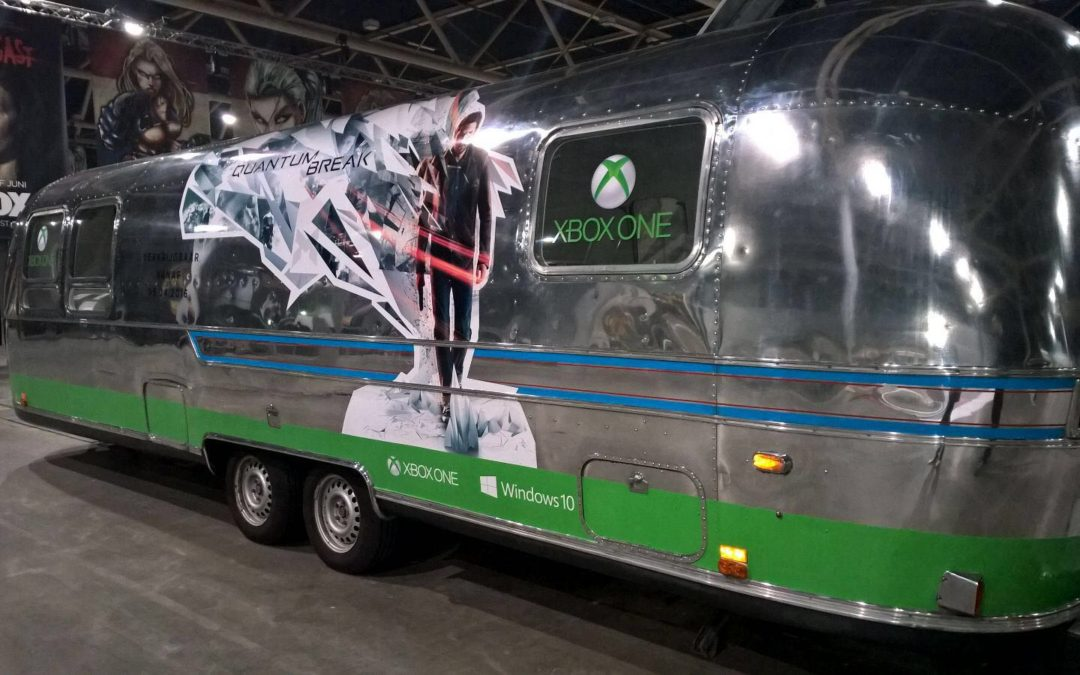 Xbox Quantum Break tour