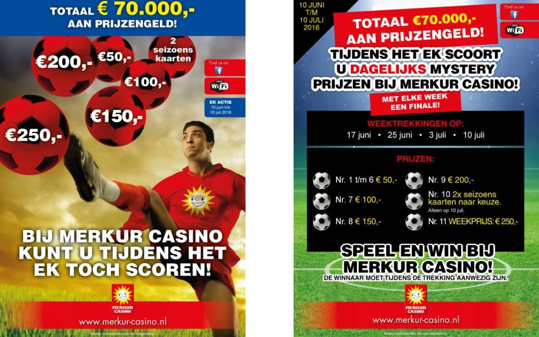Scoor bij Merkur Casino tijdens het EK 2016