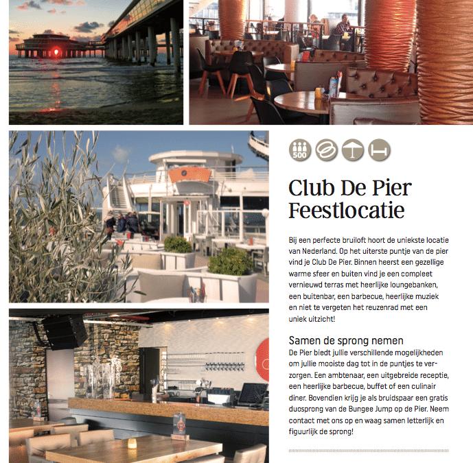 Trouwen bij Club de Pier in Trouwlocatie Special 2016