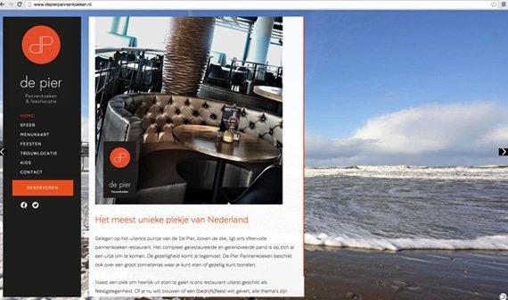 De Pier website