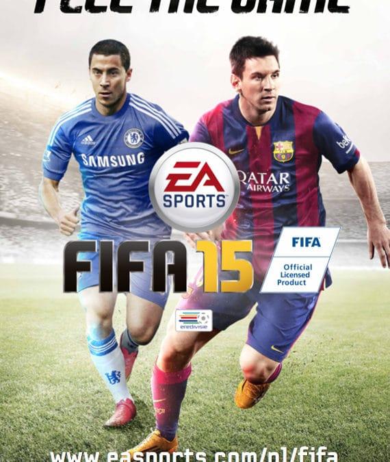 FIFA 15 is er!!!