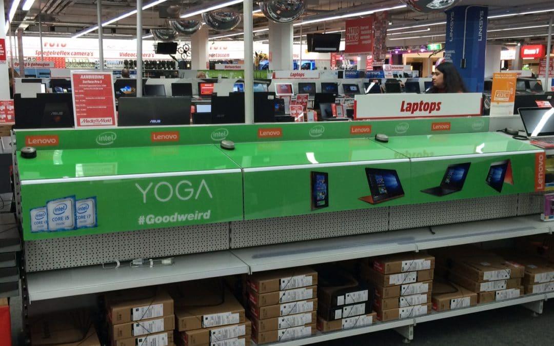 Lenovo YOGA schapoplossing in Media Markt