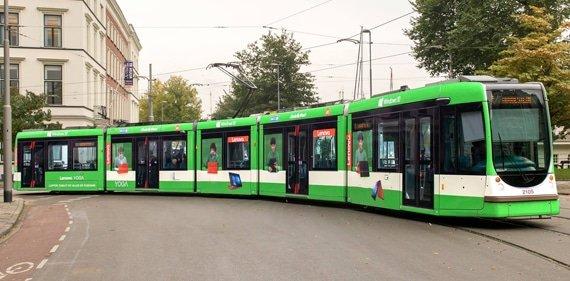 De Lenovo Yoga tram