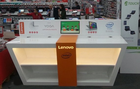 Lenovo Yoga meubel
