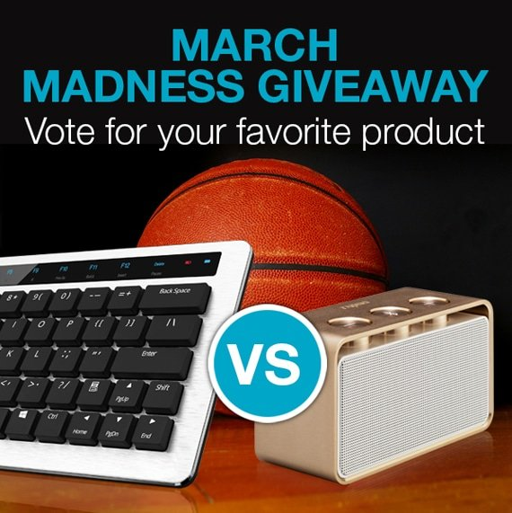 March Madness Give Away bij Rapoo