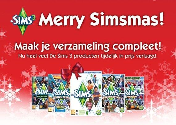 De Sims 3, het ultieme kerstcadeau