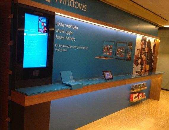 Windows 8 instore experience