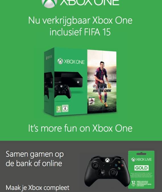 Xbox advertenties