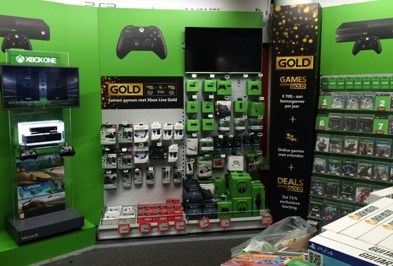 Xbox corner @ Media Markt Den Haag