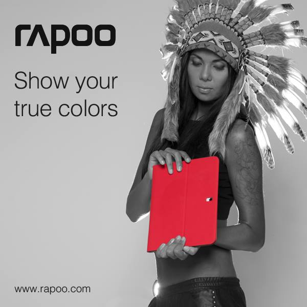 Photoshoot Rapoo – Show your true colors