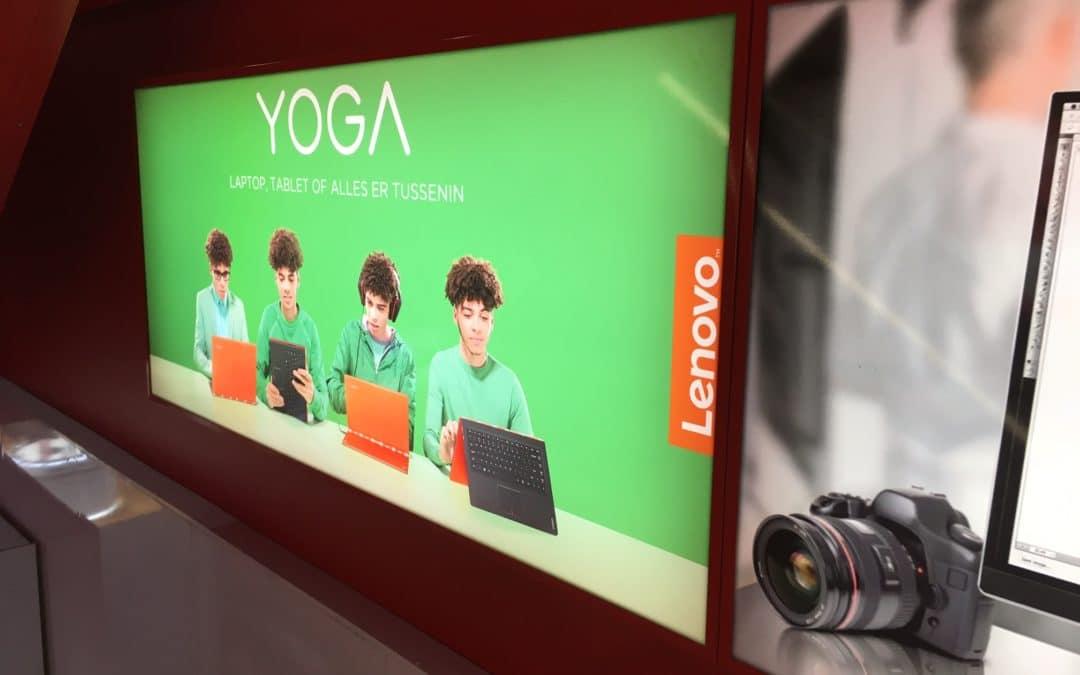 Lenovo lichtbak knalt eruit