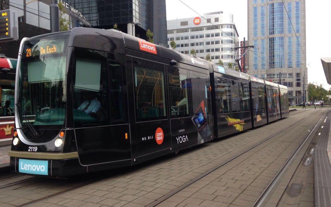 De Lenovo tram rijdt weer!