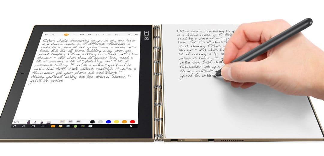 Het nieuwe Lenovo pareltje: de YOGA Book