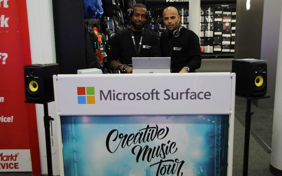 Microsoft Surface – Creative Music Tour