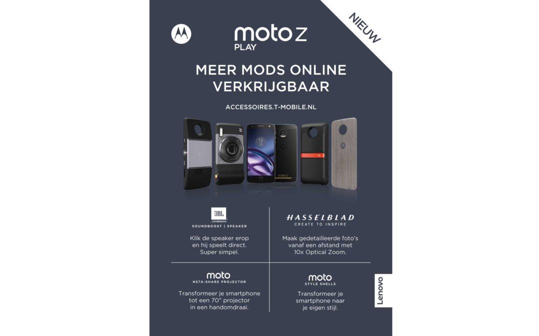 Moto Z & T-mobile actie