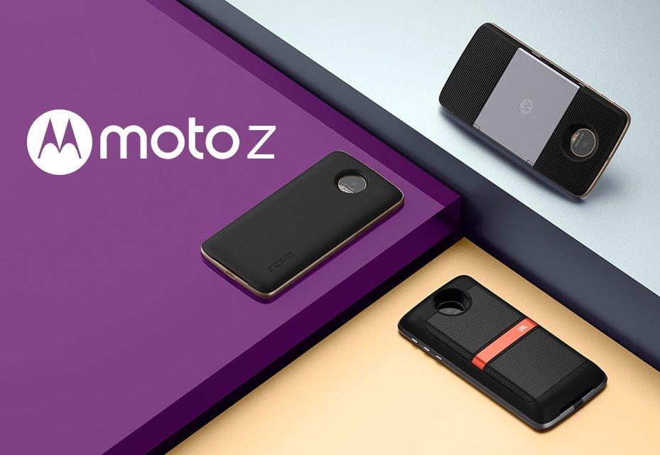 Moto Z – de telefoon met op klikbareMods