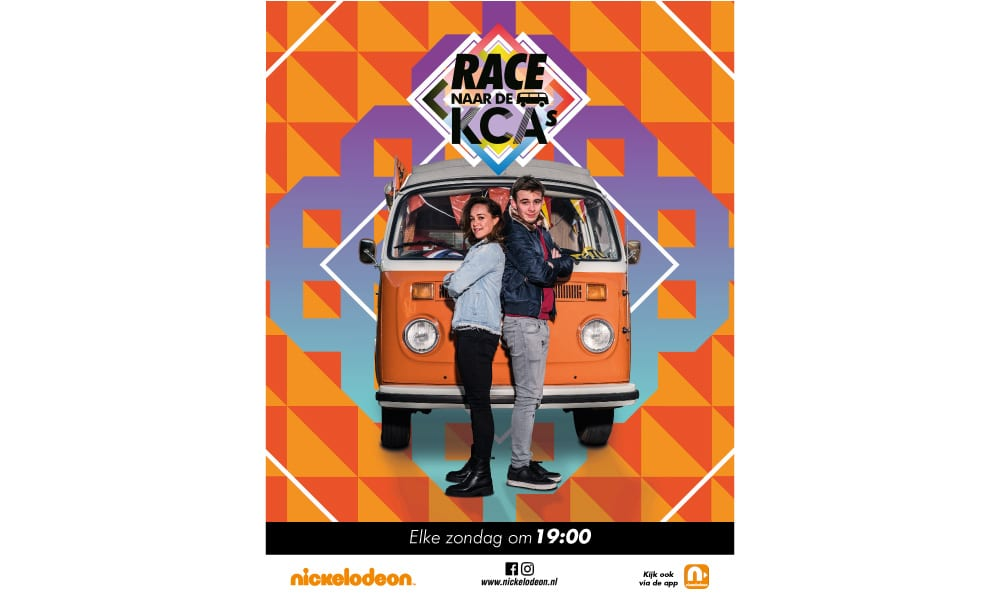 Race naar de Kids Choice Awards 2017