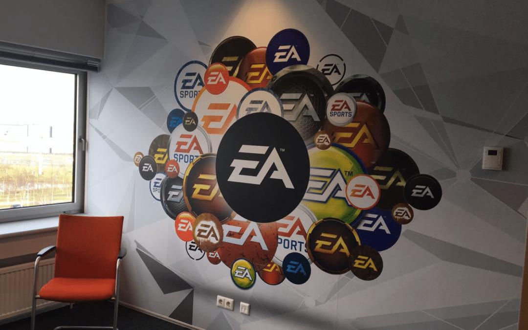 Artwork – nieuwe EA kantoor