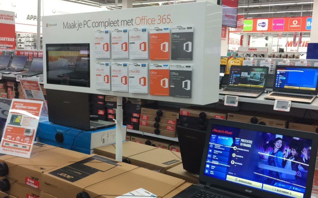Office 365 PC straat display