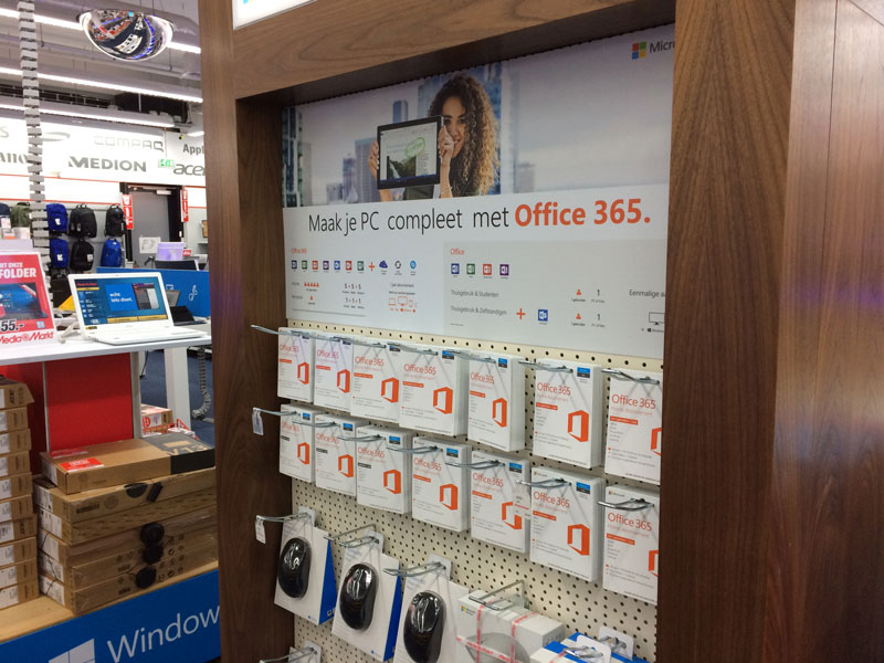 Office 365 instore
