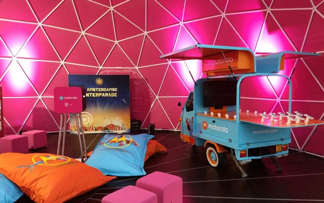 Motorola op de Amsterdamse Winterparade :)