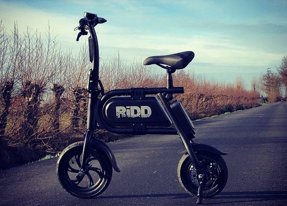 De electric wheels van RiDD :)