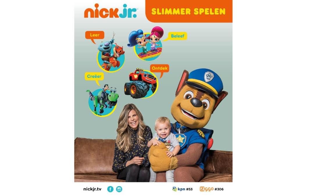 Nieuwe Nick Jr. brandcampagne voor Nickelodeon