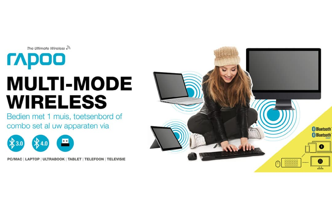Rapoo, Multi Mode Wireless