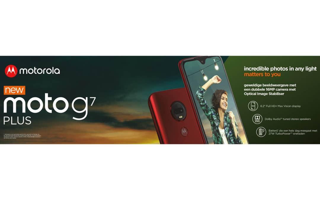 De Motorola g7 is er!