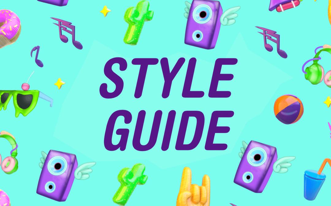 Nickelodeon Familie Festival Styleguide