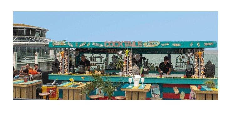 De Pier restaurant & feestlocatie: nieuwe huisstijl