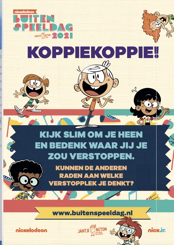 Buitenspeeldag 2021 Nickelodeon